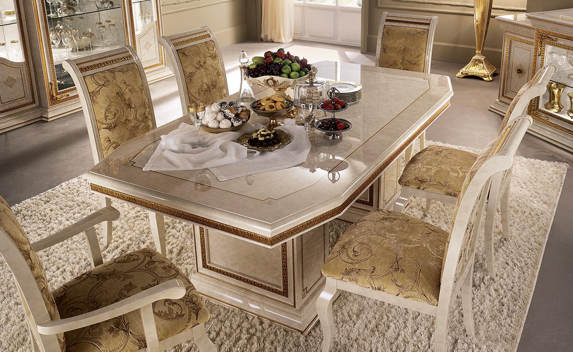 arredoclassic leonardo soggiorno tavolo sedie