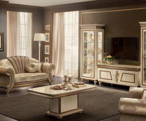 Arredoclassic-Italian-Classic-Furniture-Fantasia-living-set-with-tv-composition