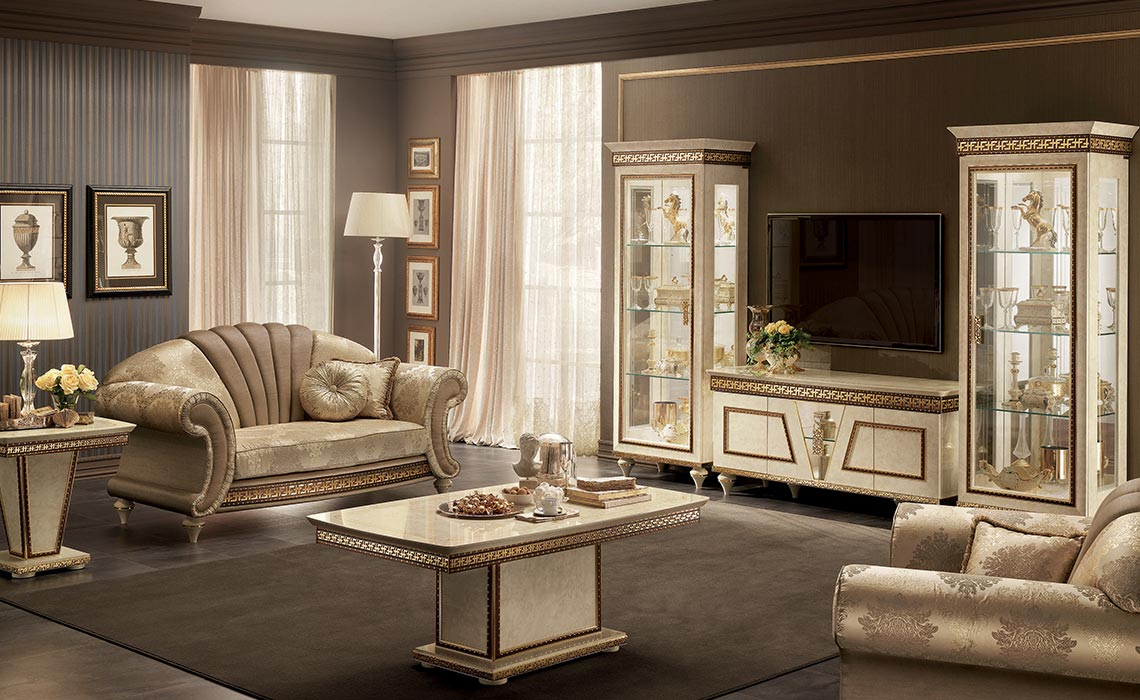 Arredoclassic-Italian-Classic-Furniture-Fantasia-living-set-with-tv-composition